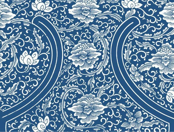 中国古典图案欣赏,各具特色的中国传统图案