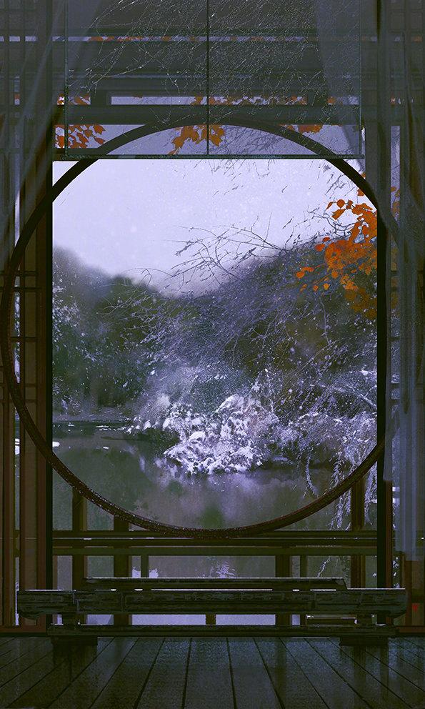 古风壁纸图片,寄情山水