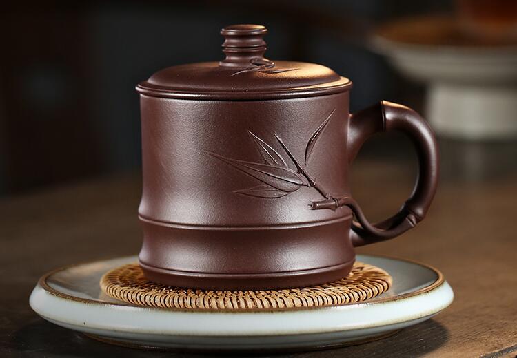 新紫砂杯第一次怎样使用,紫砂茶杯开杯方法