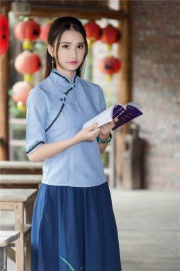 古装图片女装汉服_中式服装_中式服装图片_中式服装设计- 中国风