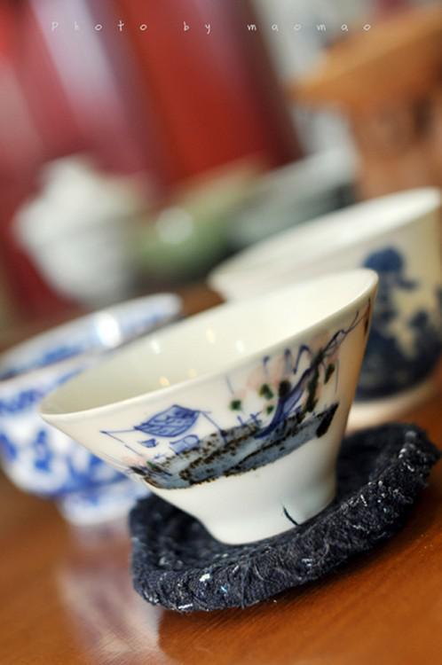 色釉 釉下彩_上品花纹精细茶碗茶器摄影 (2/6)- 中国风