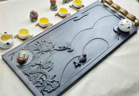 精品高端立体浮雕茶具3