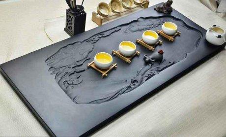 精品高端立体浮雕茶具7