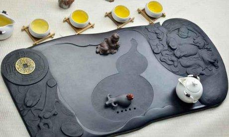 精品高端立体浮雕茶具4