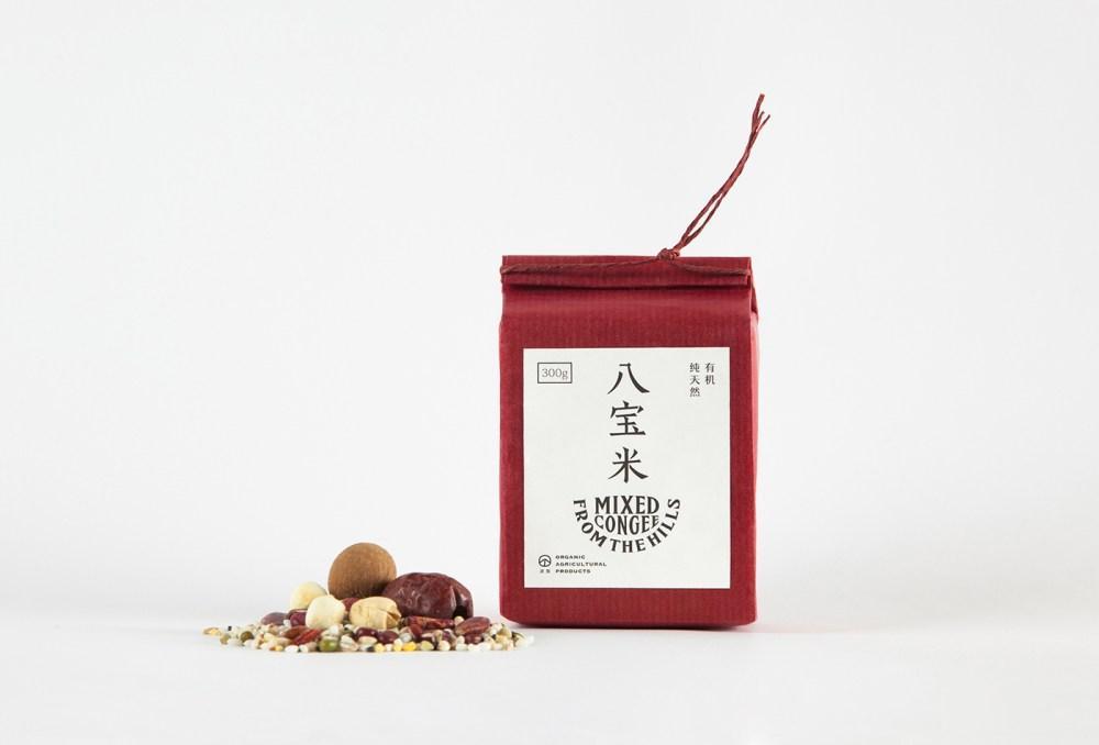 八宝米礼盒包装设计