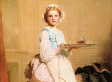 法国画家1825-1891)油画作品