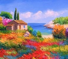 法国风情油画