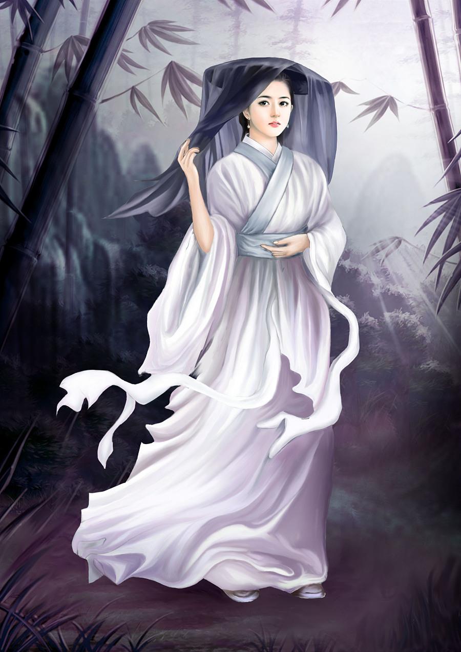 哑舍5_古风人物写实插画《中国风》系列动漫作品(2)- 中国风