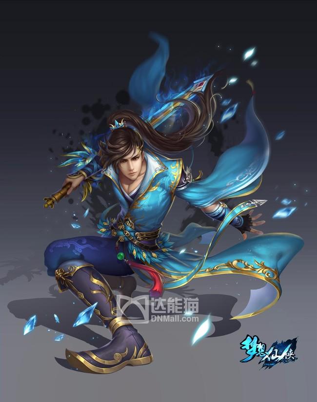 哑舍5_中国风游戏人物宣传图人物动漫- 中国风