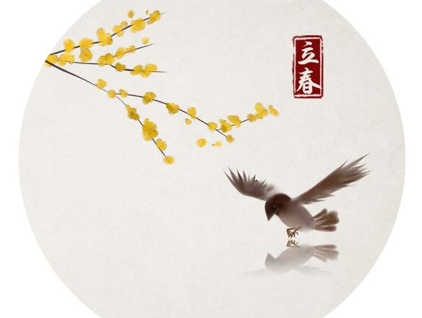 水墨中国风——竹间系列·二十