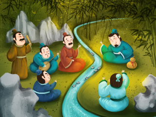 中国风 儿插 绘本