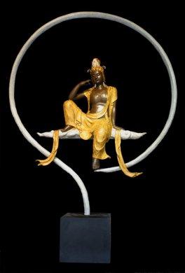 台湾精美铜雕菩萨雕塑艺术
