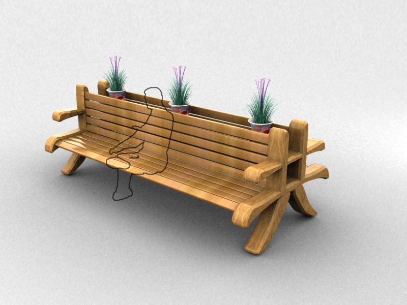 """中国文字公""""共""""座椅创意设计"""