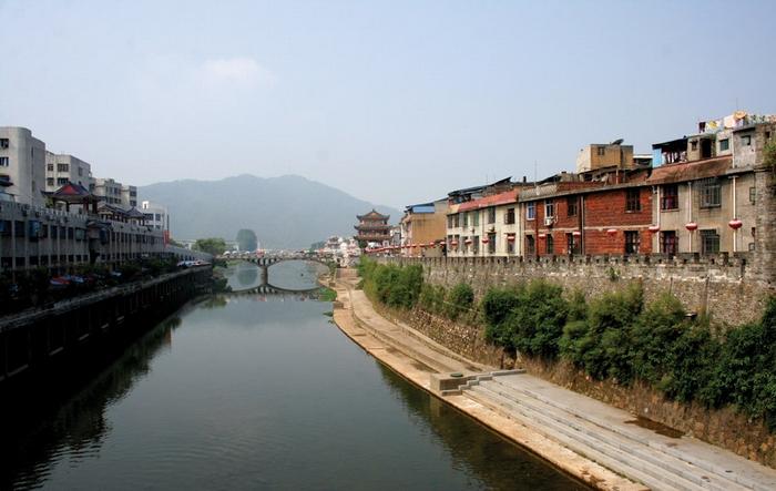 中国最美的十大古镇--长汀古镇