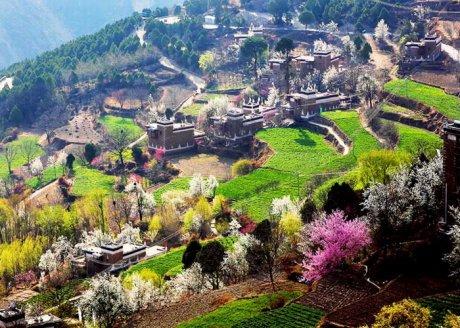 中国最美的十大古镇--丹巴藏寨