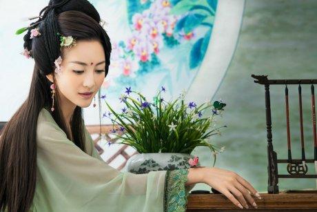 镜花水月中国风美女摄影艺术作