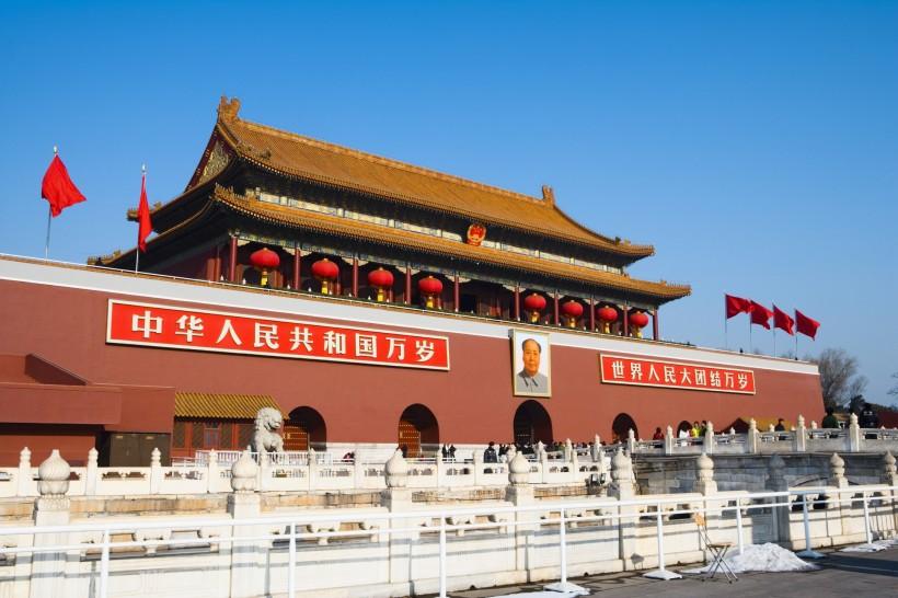天安门--明代、清代时期北京皇城城门