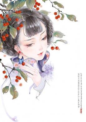 唯美中国风绘画作品