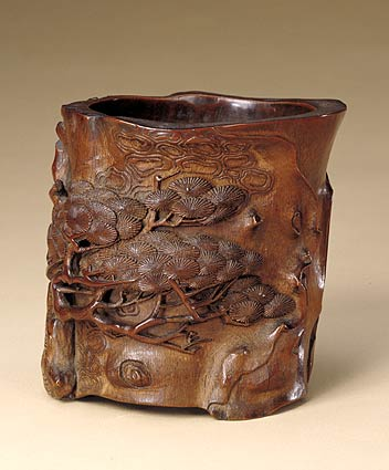 北京故宫馆藏竹木牙角匏器雕刻艺术(一)