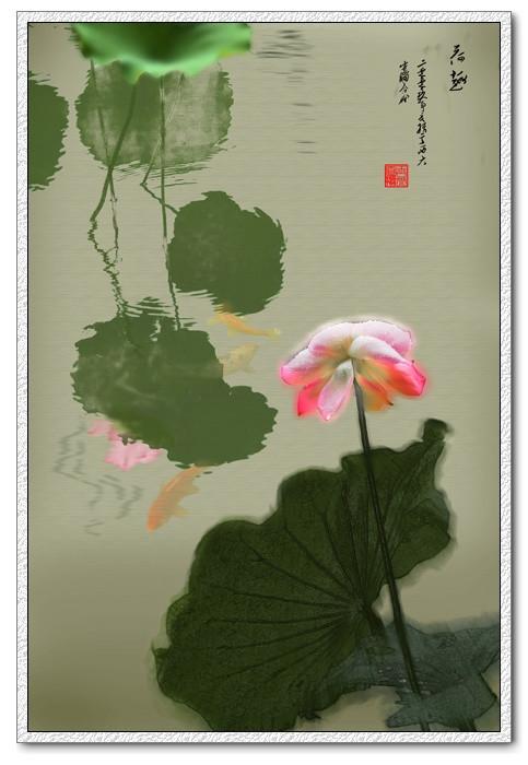 绝美的中国风荷语主题艺术摄影