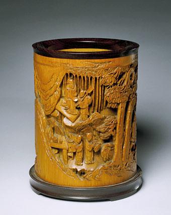 北京故宫馆藏竹木牙角匏器雕刻艺术(六)