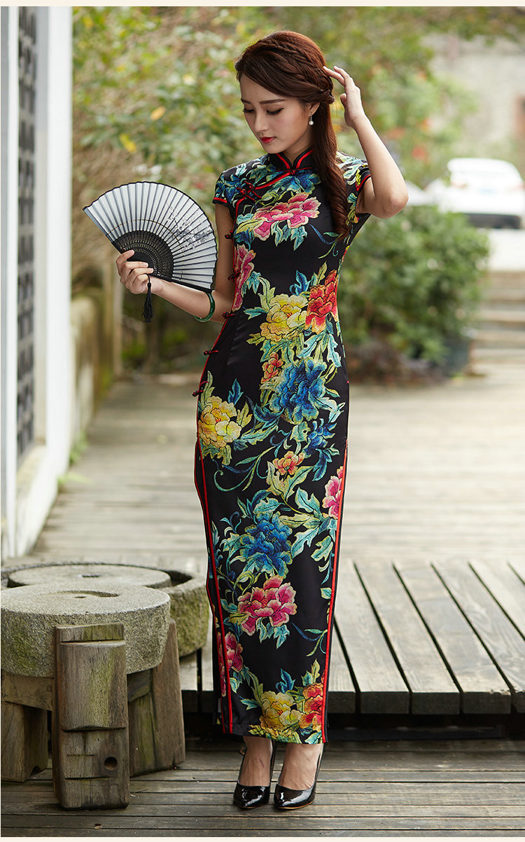 闭月羞花中国风旗袍美女摄影艺术