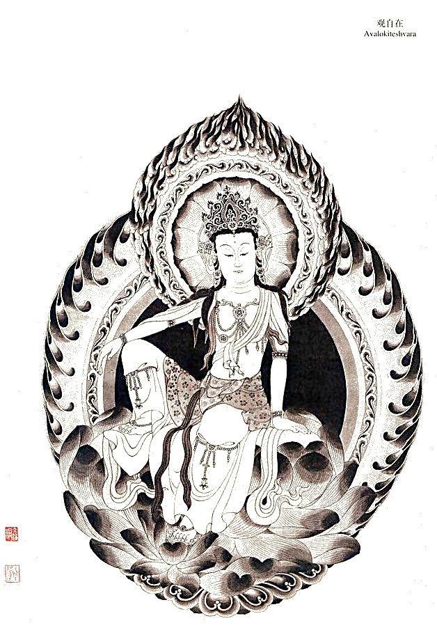 中国道教神话故事_佛教传统神话故事中的天神画集(二)- 中国风