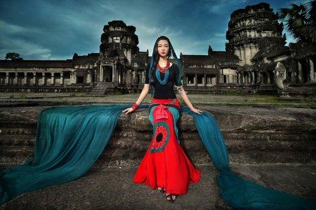 吴哥风情民族风唯美人像摄影艺